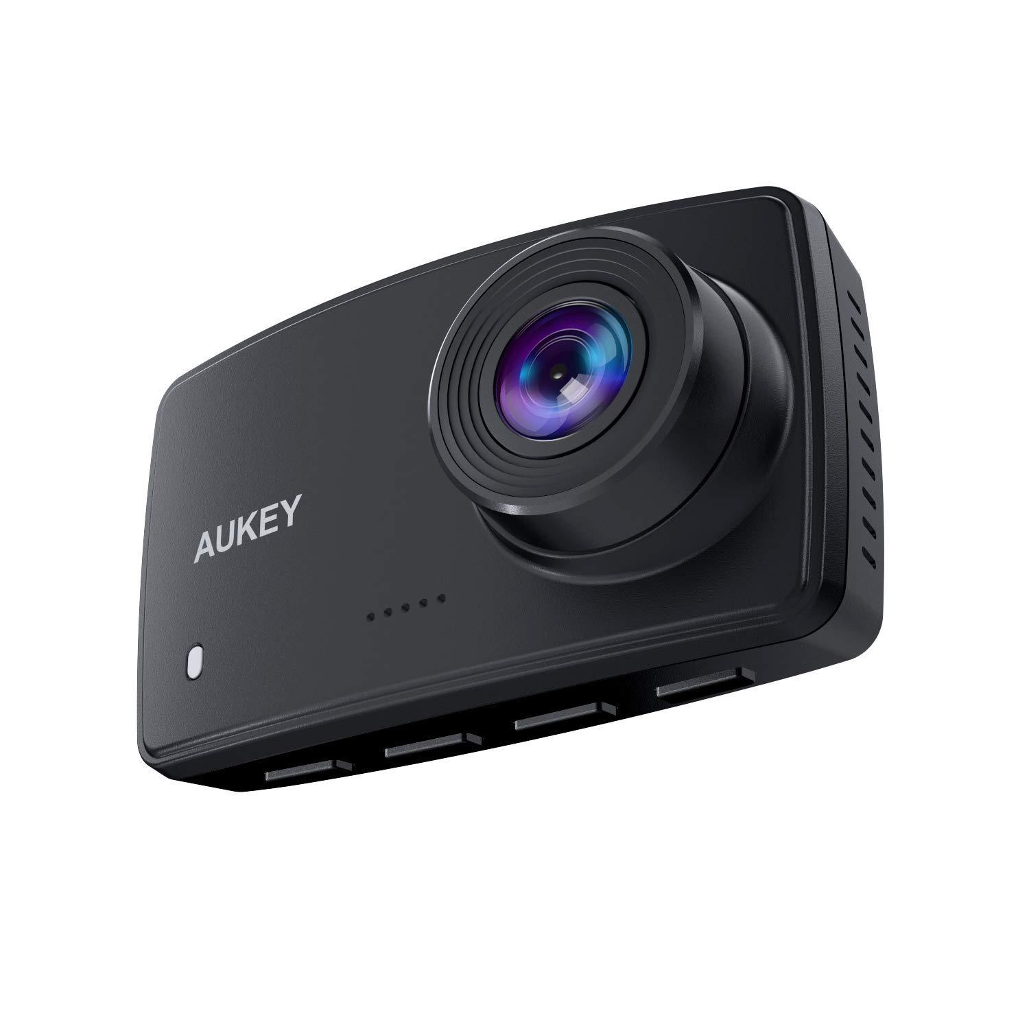 Aukey 1080p Dashcam with Night Vision
