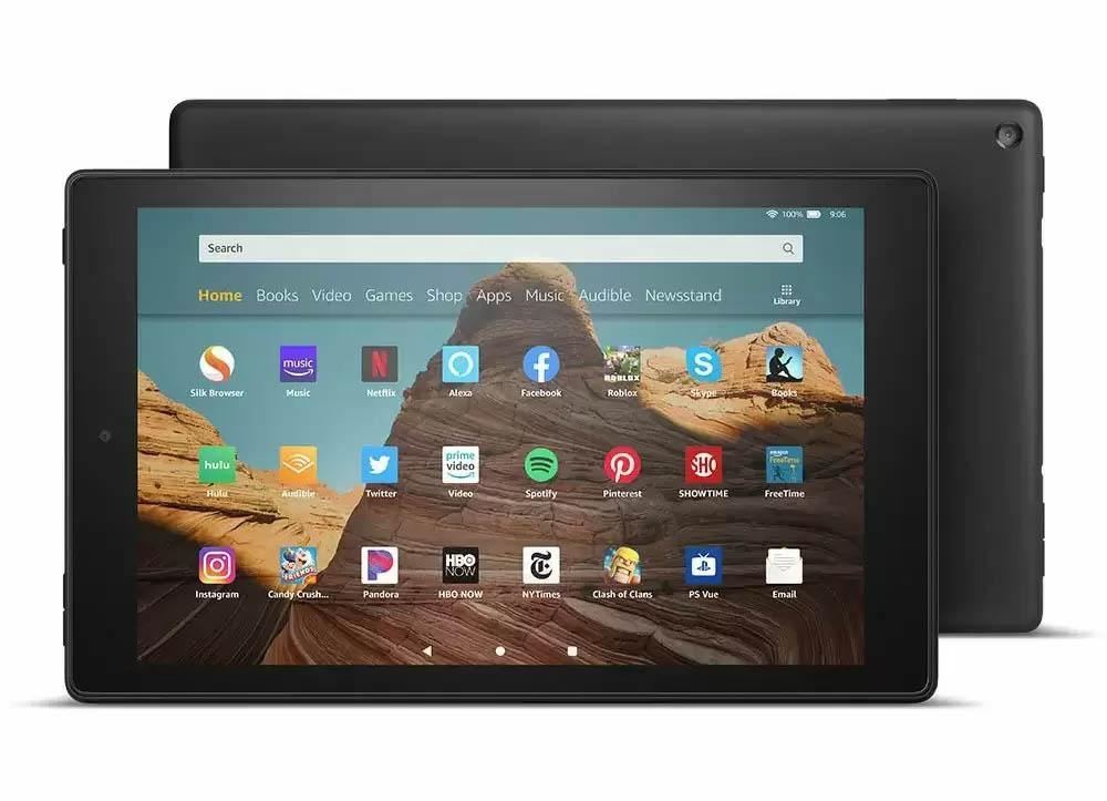 32GB Amazon Fire HD 10 Tablet for $99.99 Shipped