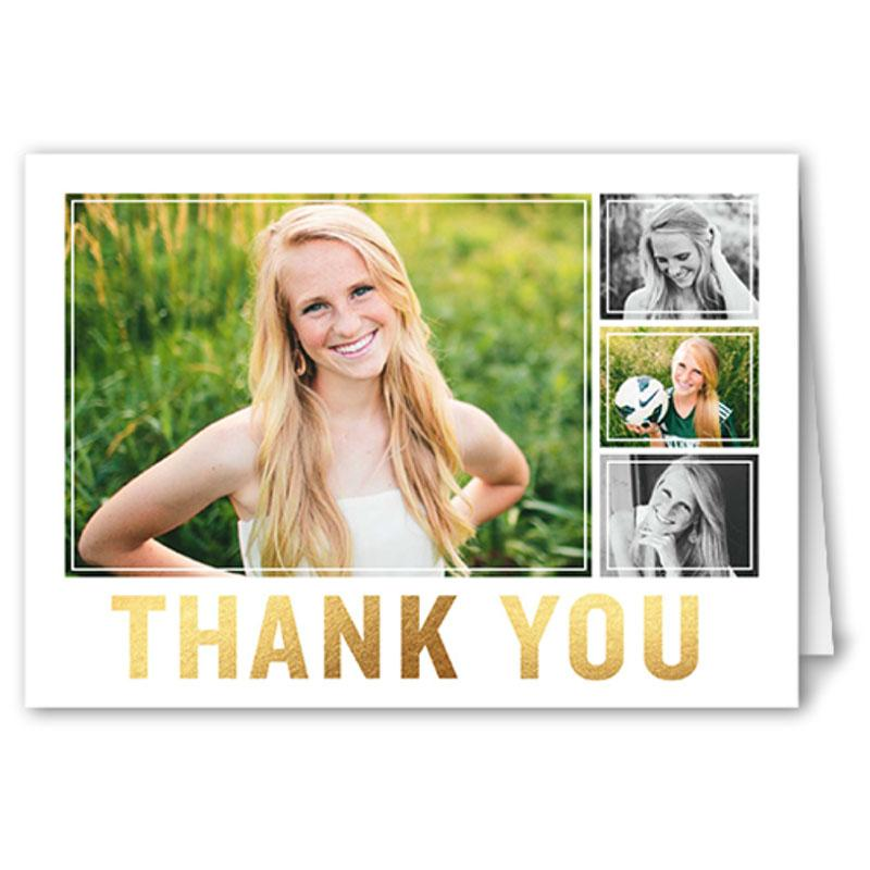 12x Shutterfly Custom 3x5 Folded Thank You Cards for $1.99 Shipped