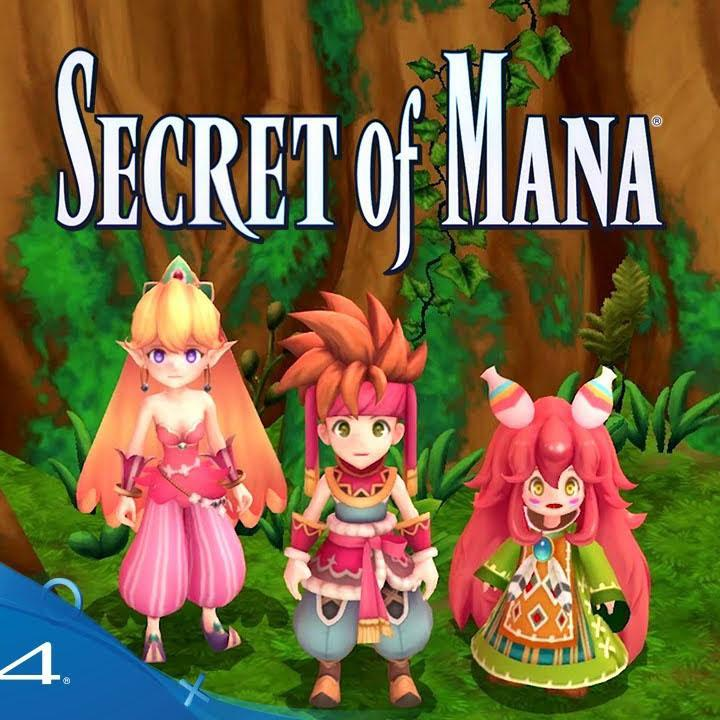 Secret of Mana PS4 Playstation 4 for $14.44 Shipped