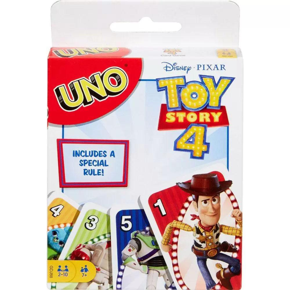 UNO Toy Story 4 Card Game for $3.99