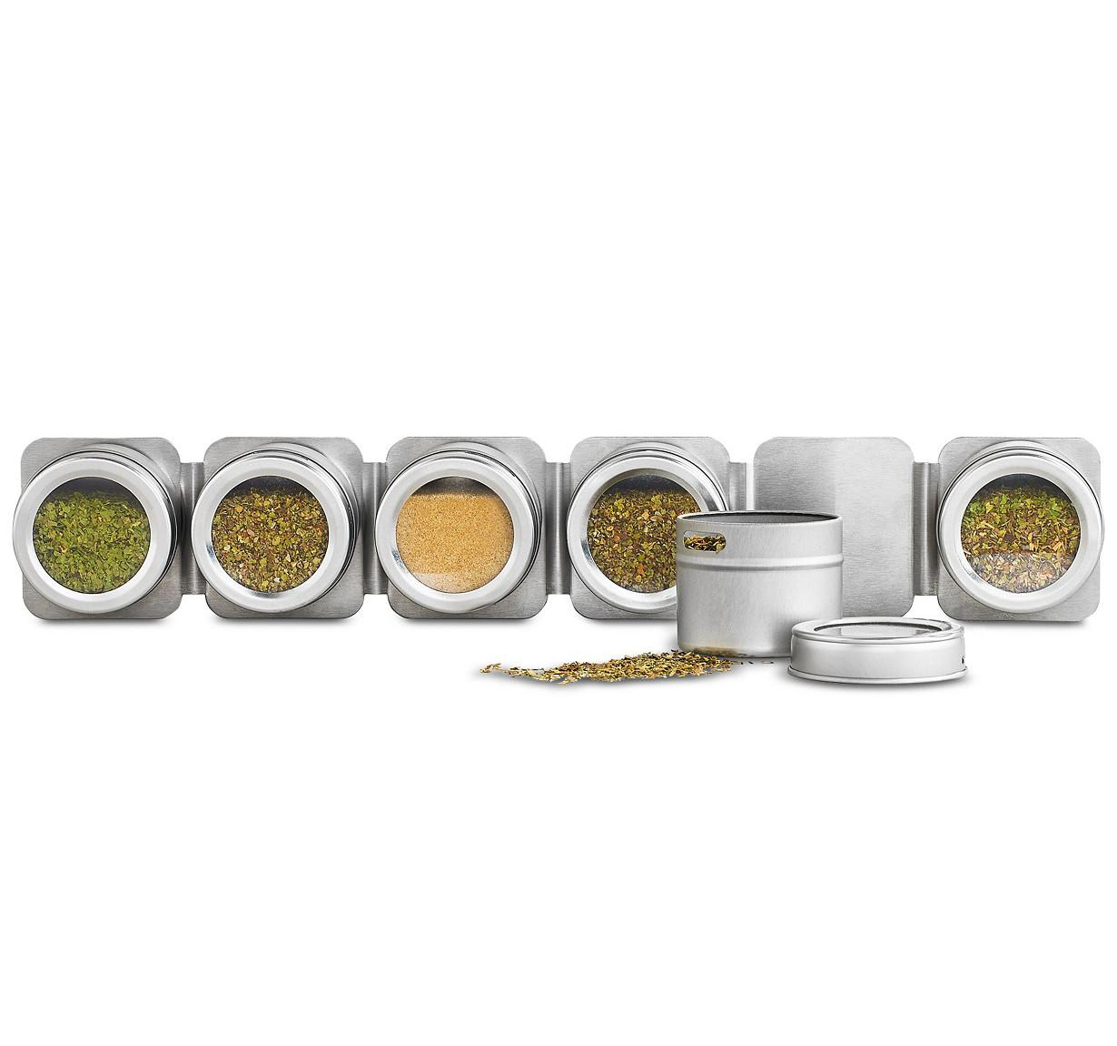 Martha Stewart Collection Magnetic Tin Spice Rack for $12.99