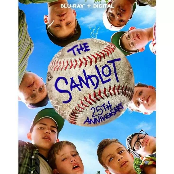 The Sandlot 25th Anniversary Blu-ray for $4.99