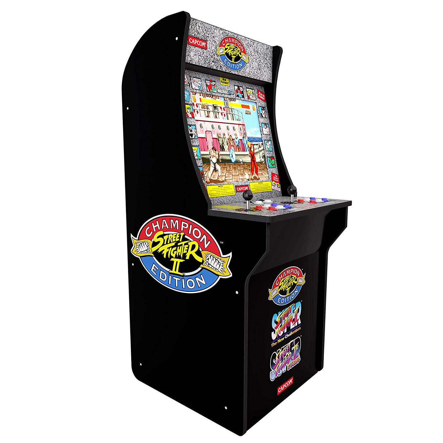 Arcade1Up Street Fighter 3-in-1 Home Arcade