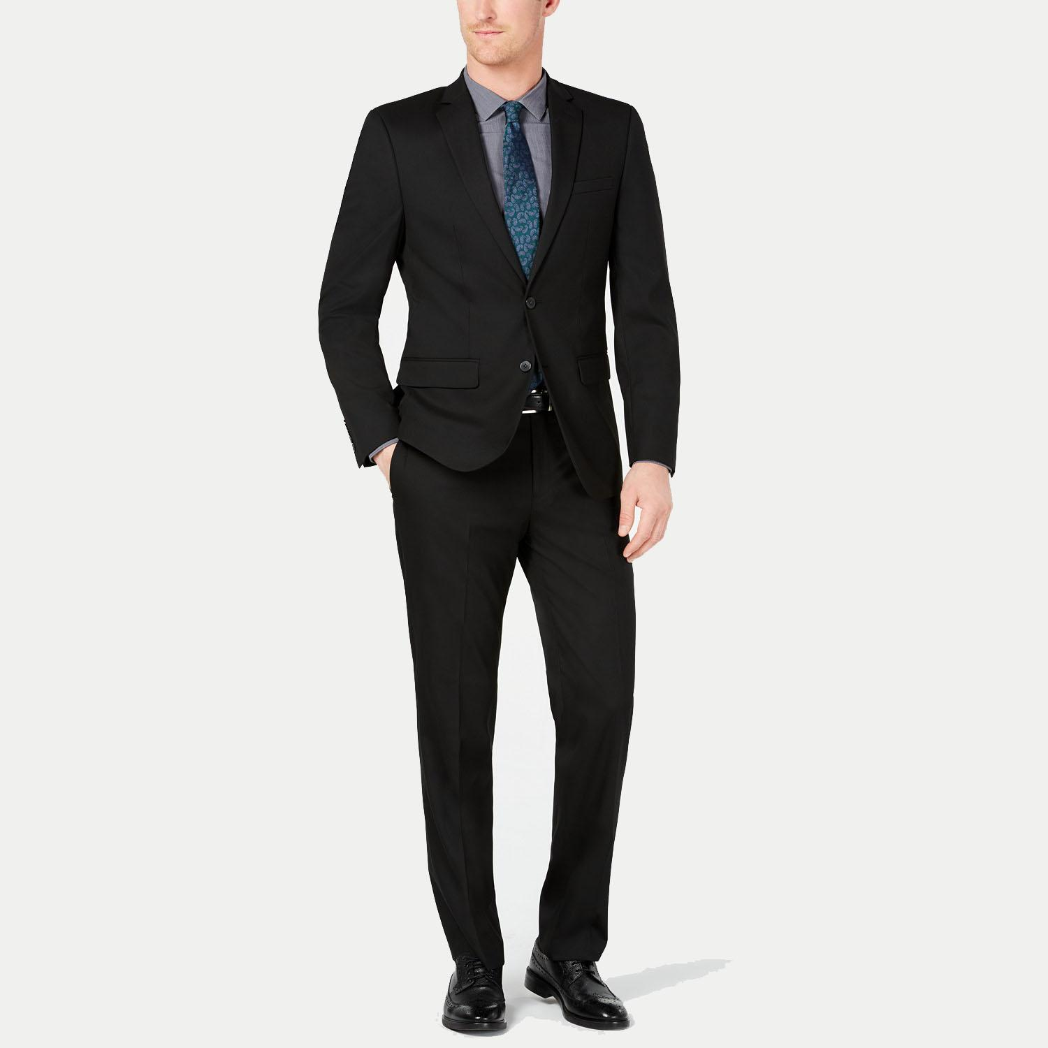 Van Heusen Slim-Fit Flex Stretch Wrinkle-Resistant Solid Suit for $79.99 Shipped