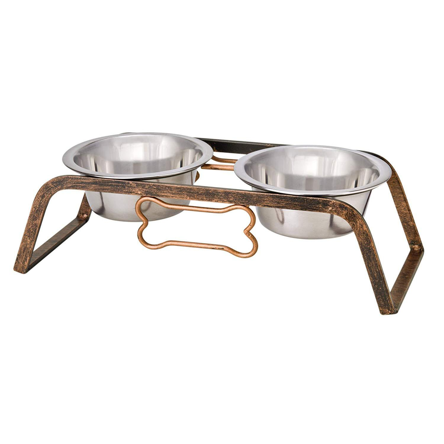 Loving Pets Black Label Collection Rustic Bone Diner Dogs