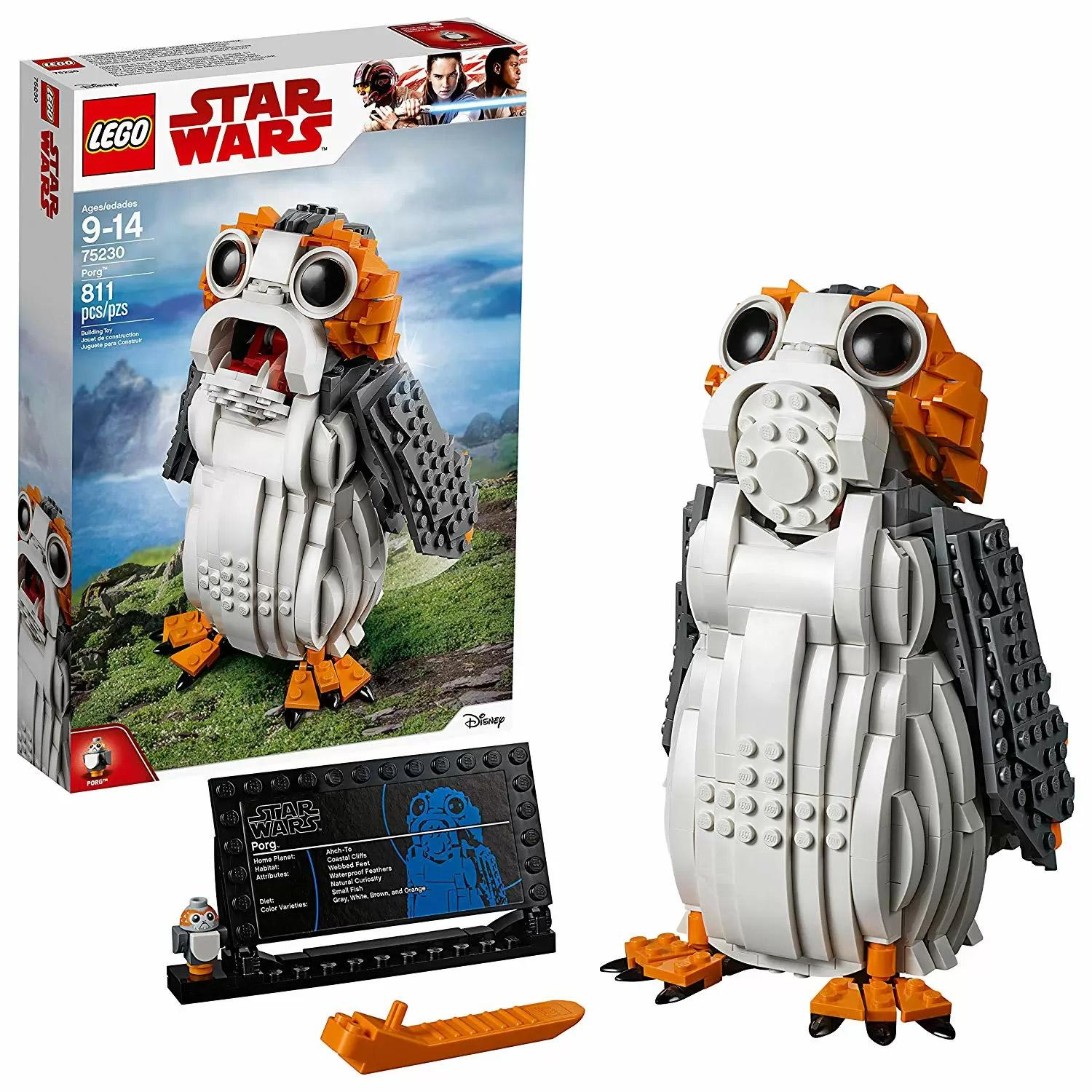 811-Piece LEGO Star Wars The Last Jedi Porg Building Set for $34.99 Shipped