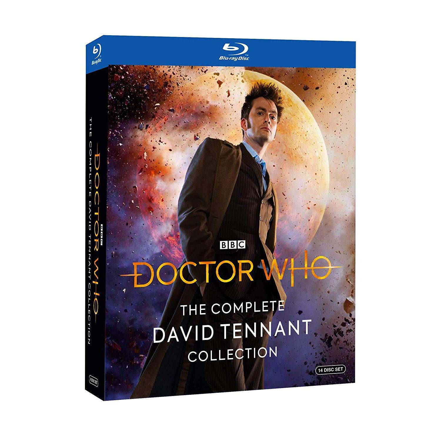 Doctor Who The Complete David Tennant Collection Blu-ray for $19.99