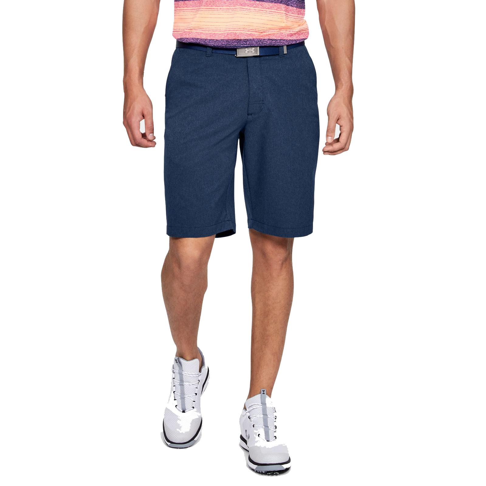 Under Armour Mens Match Play Vented Golf Shorts