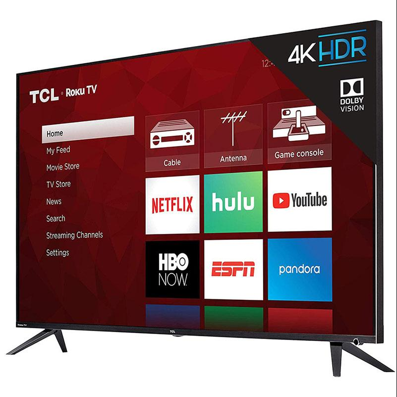 TCL 55in 55R613 6 Series 4K UHD HDR Roku Smart LED HDTV