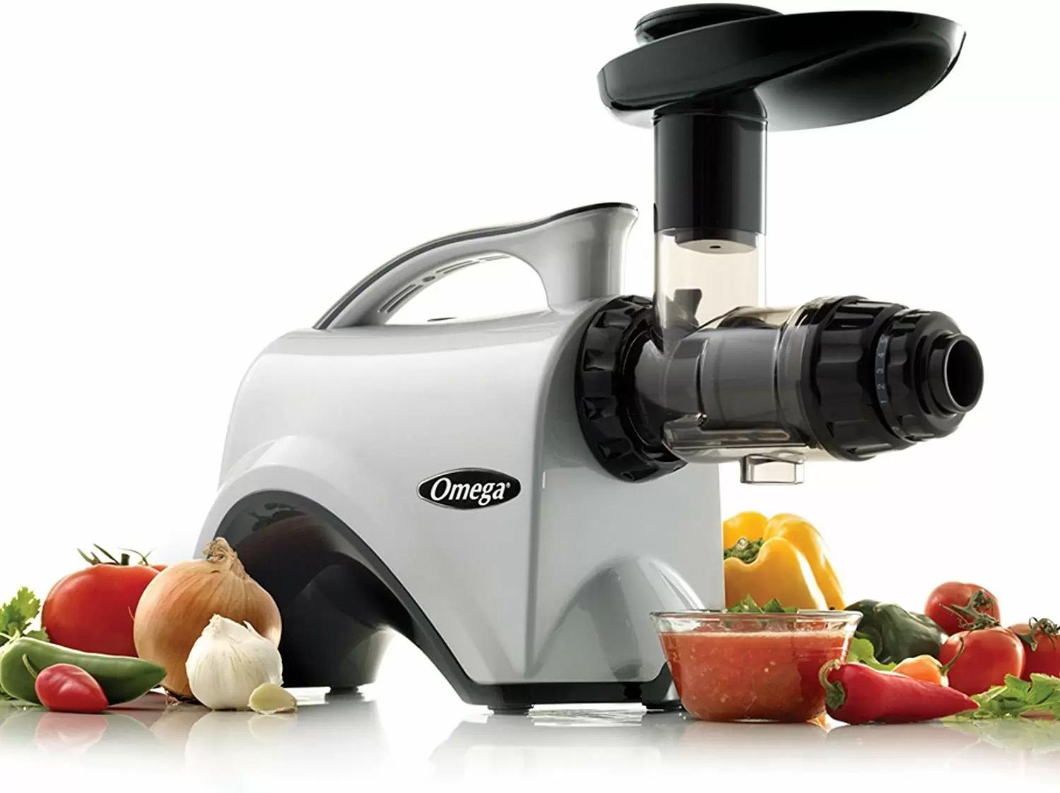 Omega 150W Juicer Extractor and Nutrition Center for $258.96 Shipped