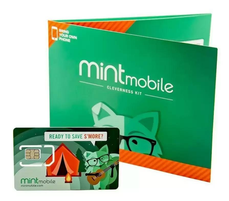 3-Months of Mint Mobile Prepaid Unlimited Talk and Text with 12GB for $30