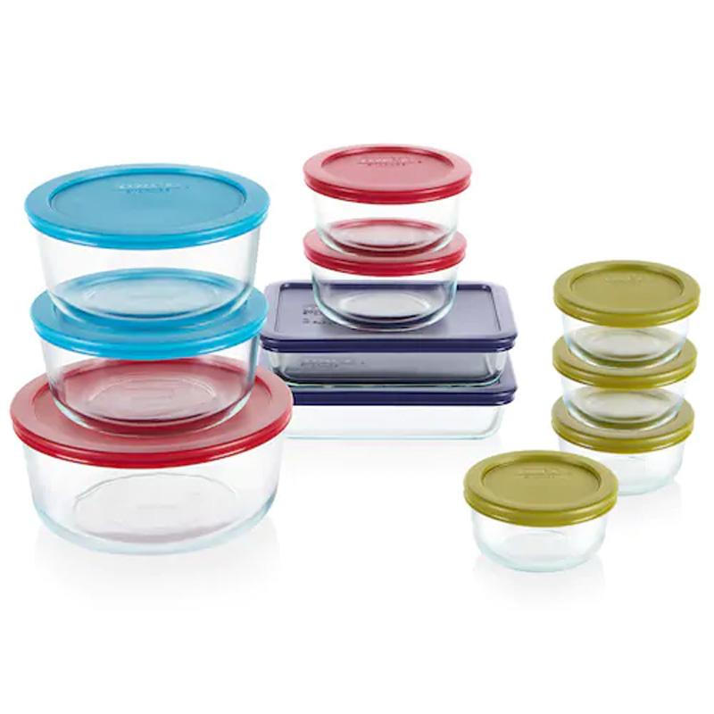 22-Piece Pyrex Simply Store Food Storage Set for $15.49 After Rebate