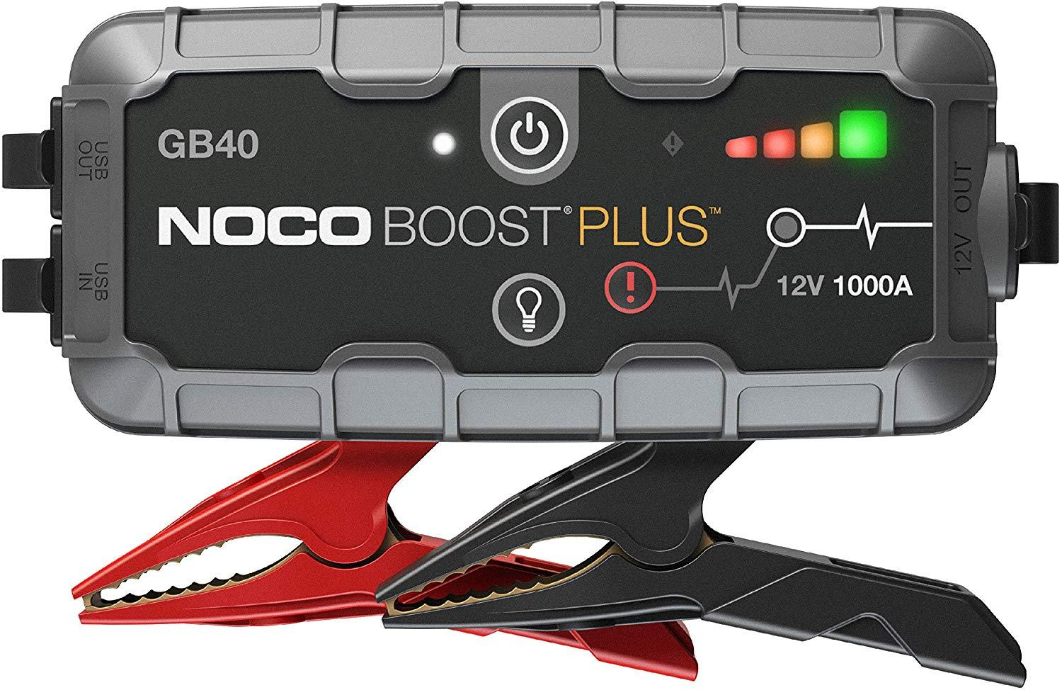 Noco Boost Plus GB40 1000A 12V Car Battery Jump Starter Pack for $63.31 Shipped