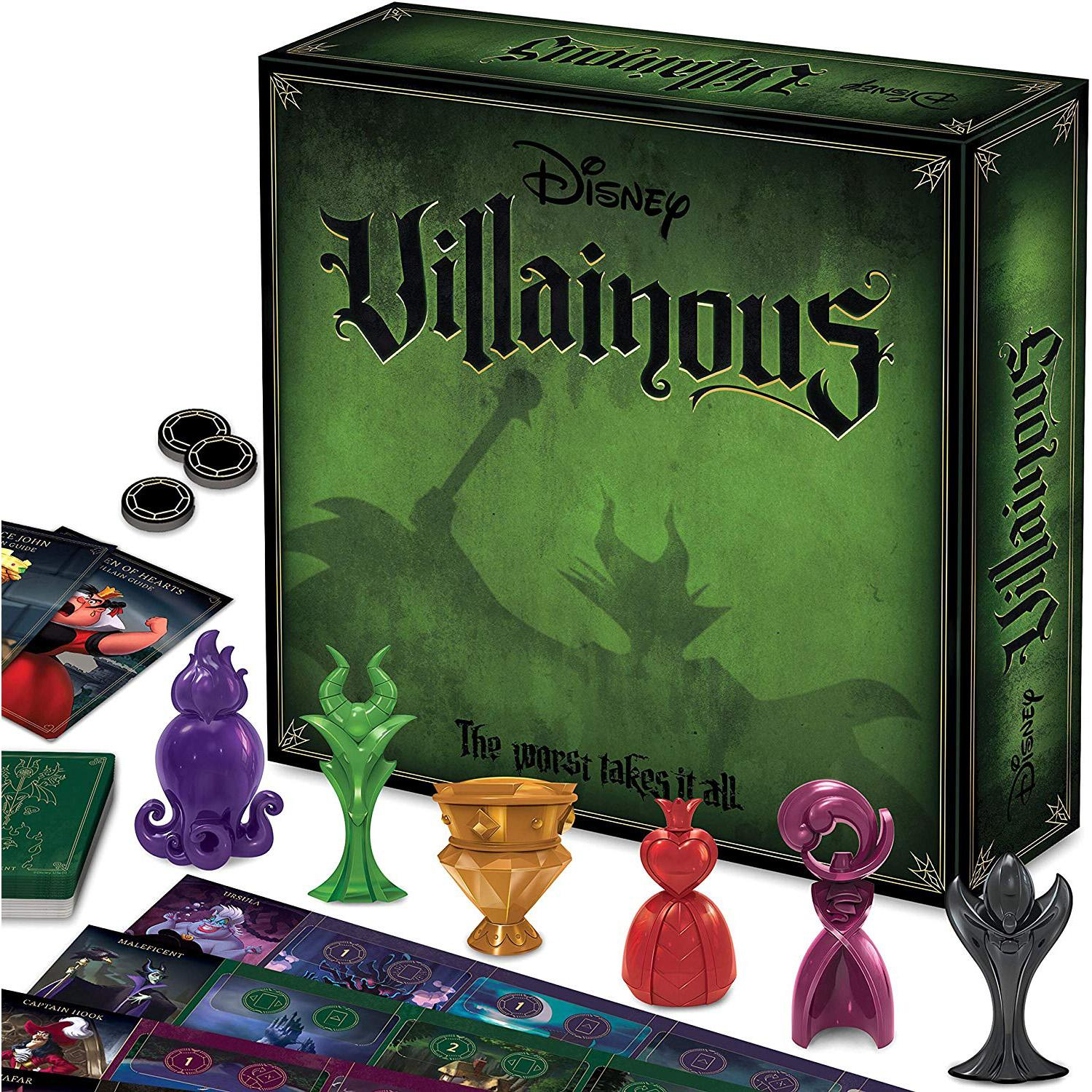 Ravensburger Disney Villainous Strategy Board Game for $26.24 Shipped