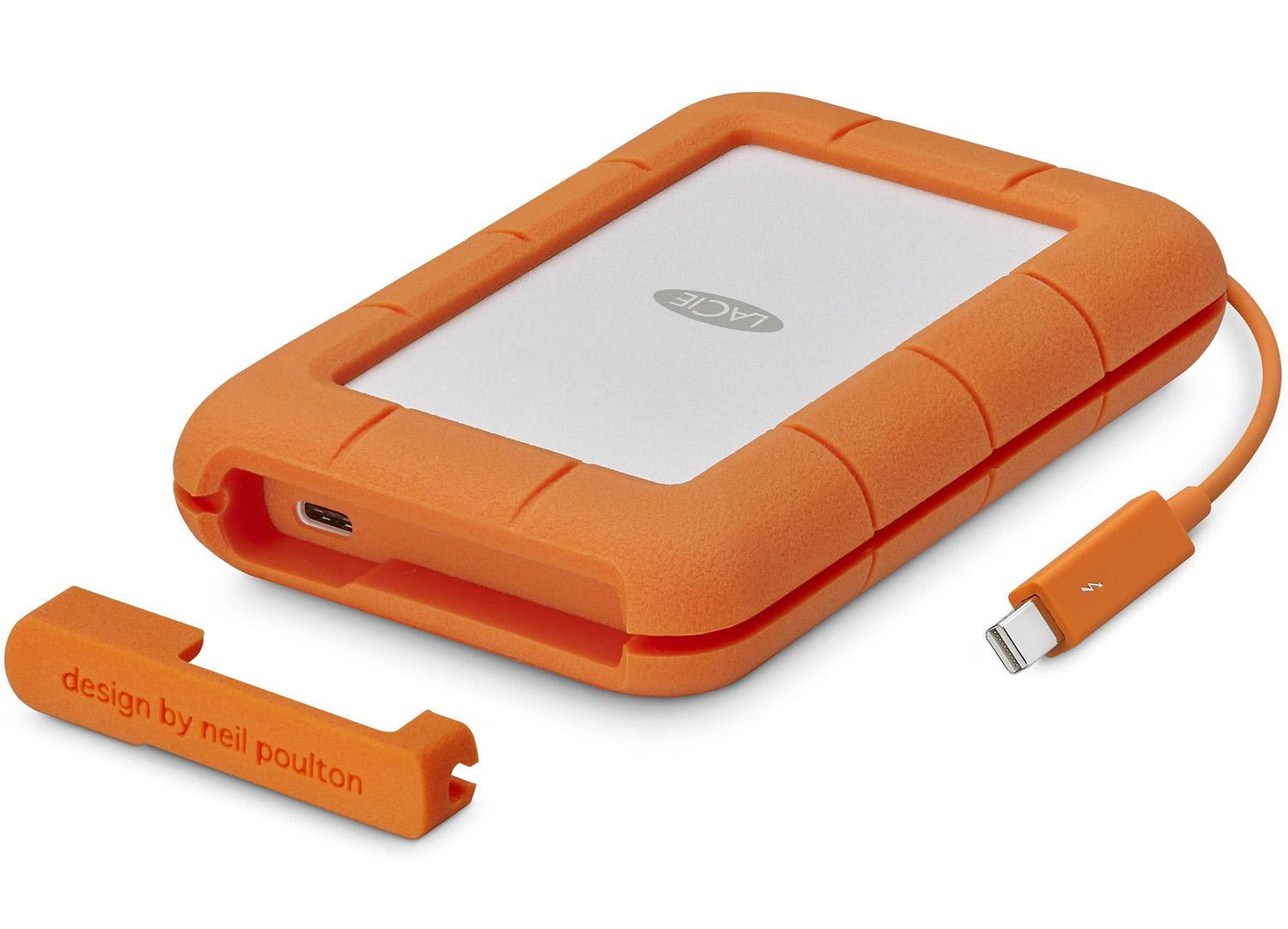 LaCie 500GB Rugged External SSD with USB Type-C Thunderbolt for $125 Shipped