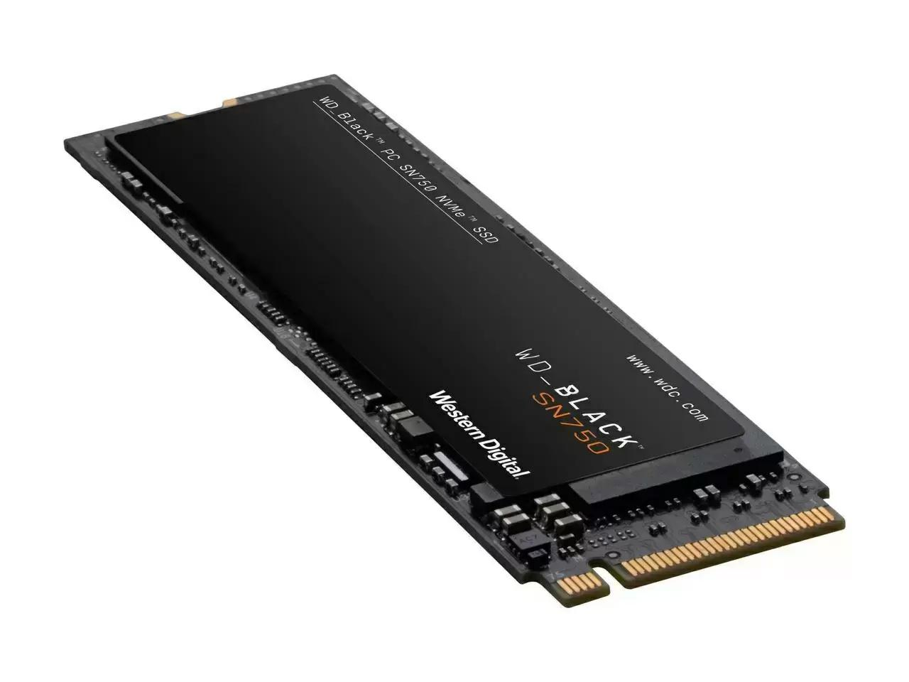 500GB WD Black SN750 NVMe PCIe SSD Solid State Drive for $69.99 Shipped