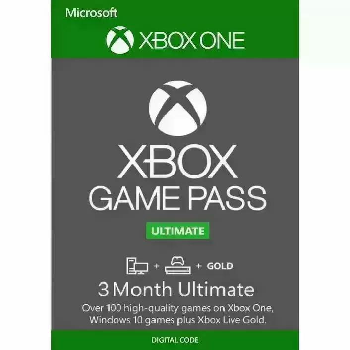 3-Months Xbox Game Pass Ultimate Membership for $24.09