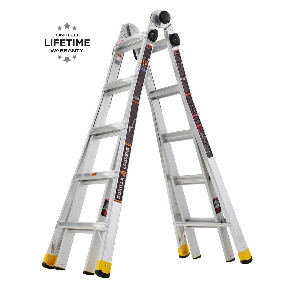Gorilla Ladders 22ft Reach MPX Ladder for $129 Shipped