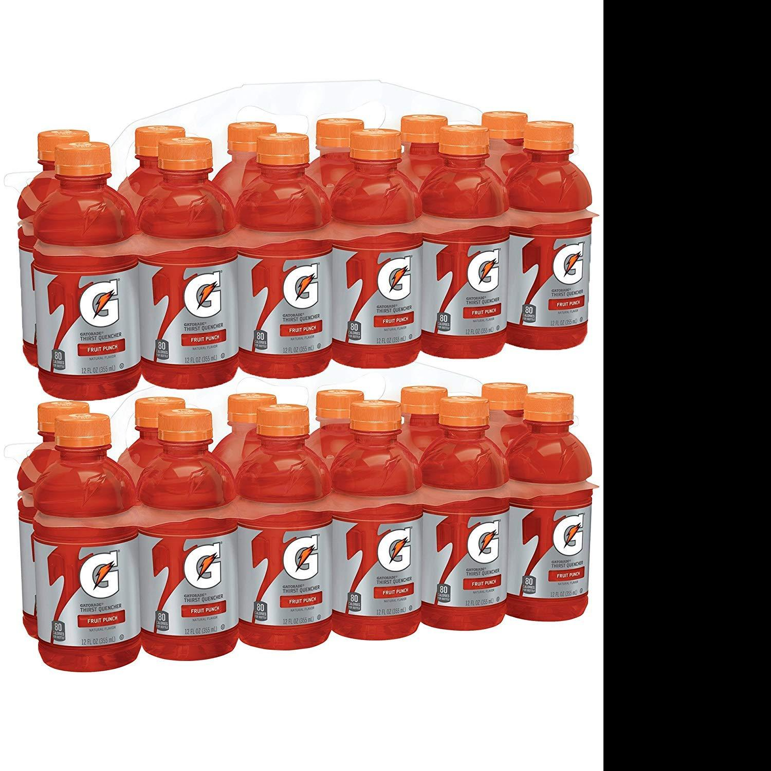 24 Gatorade Fruit Punch Sports Drink for $8.94 Shipped