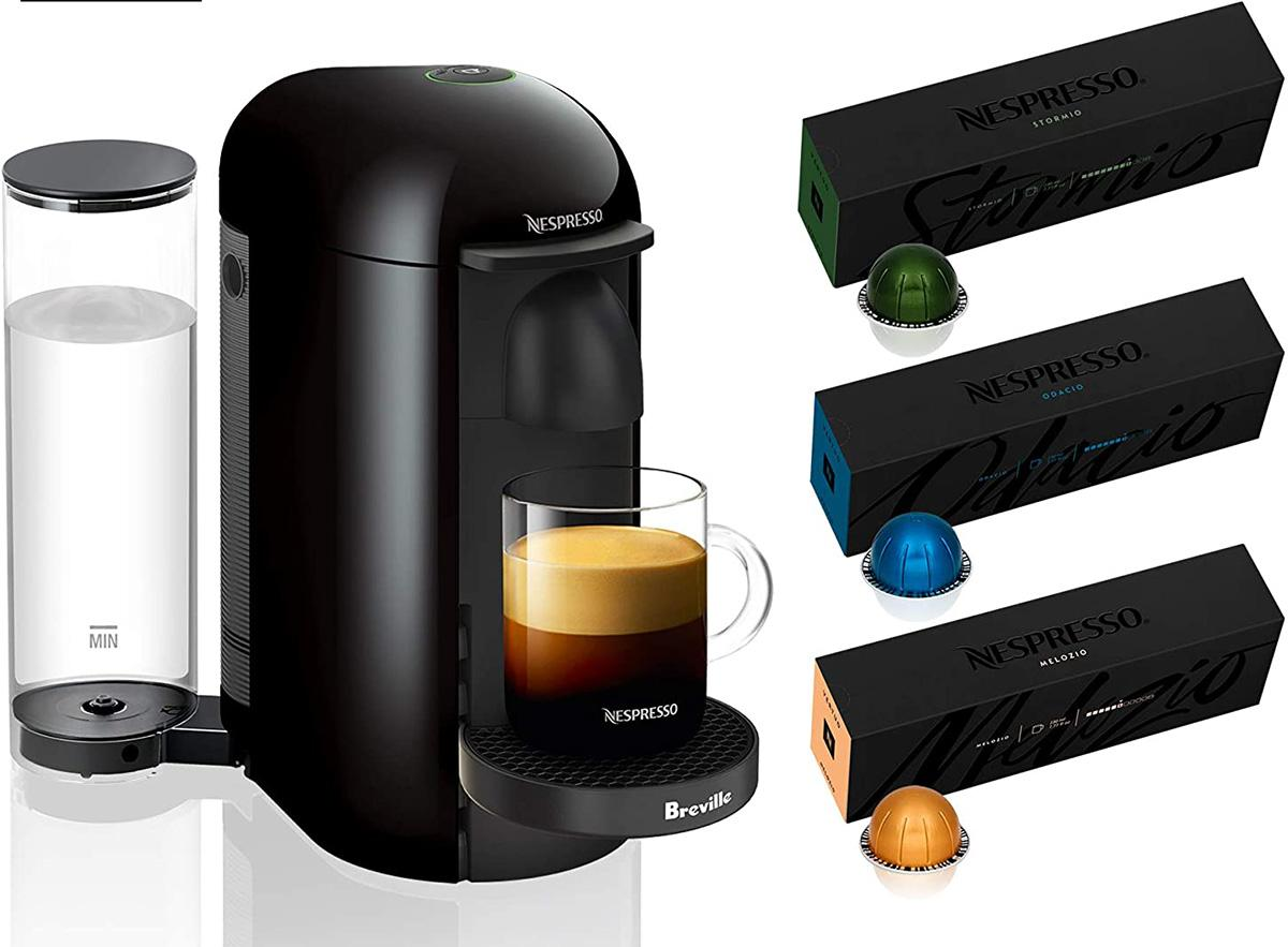 Nespresso VertuoPlus Coffee and Espresso Maker by Breville for $114.99 Shipped