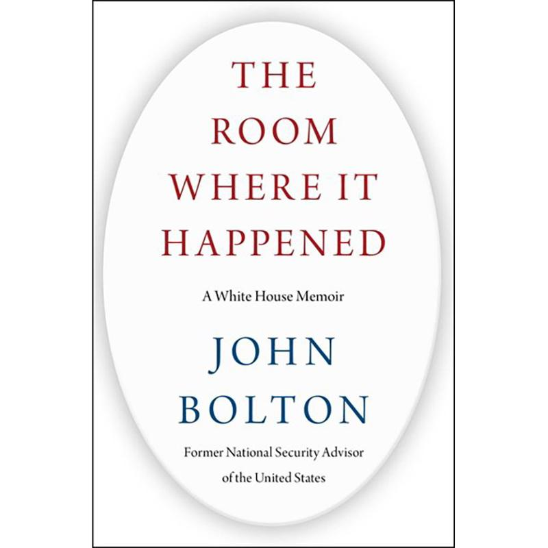 The Room Where It Happened John Bolton Book for $19.42
