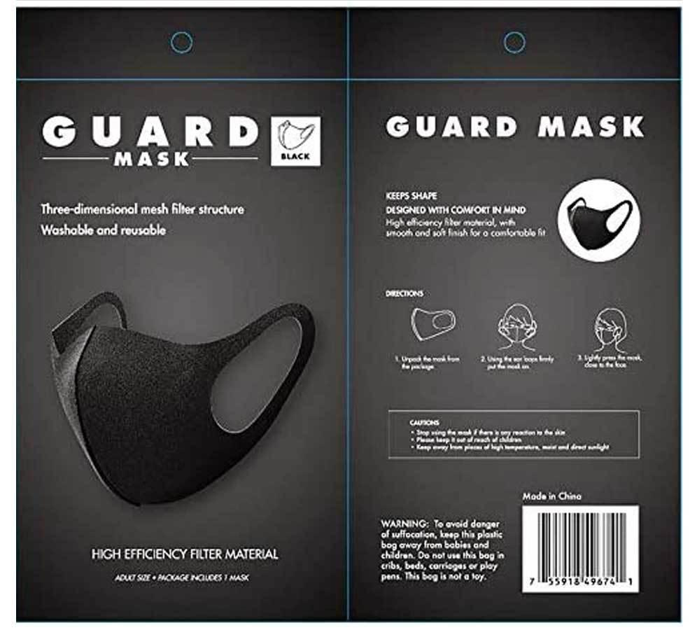 Allure Guard Face Mask for $3.99