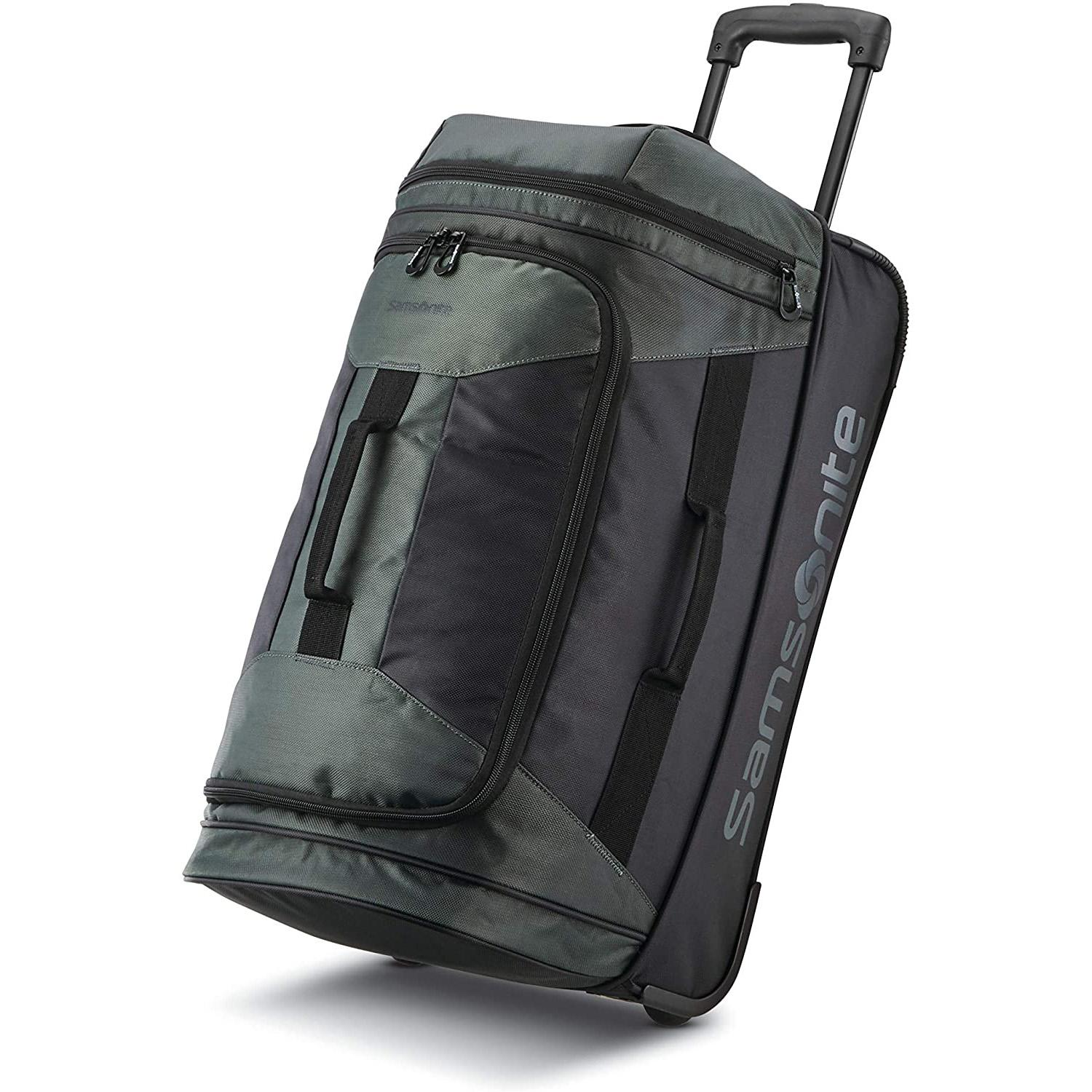 Samsonite Andante 2 Drop Bottom Wheeled Rolling Duffel Bags for $22.50 Shipped