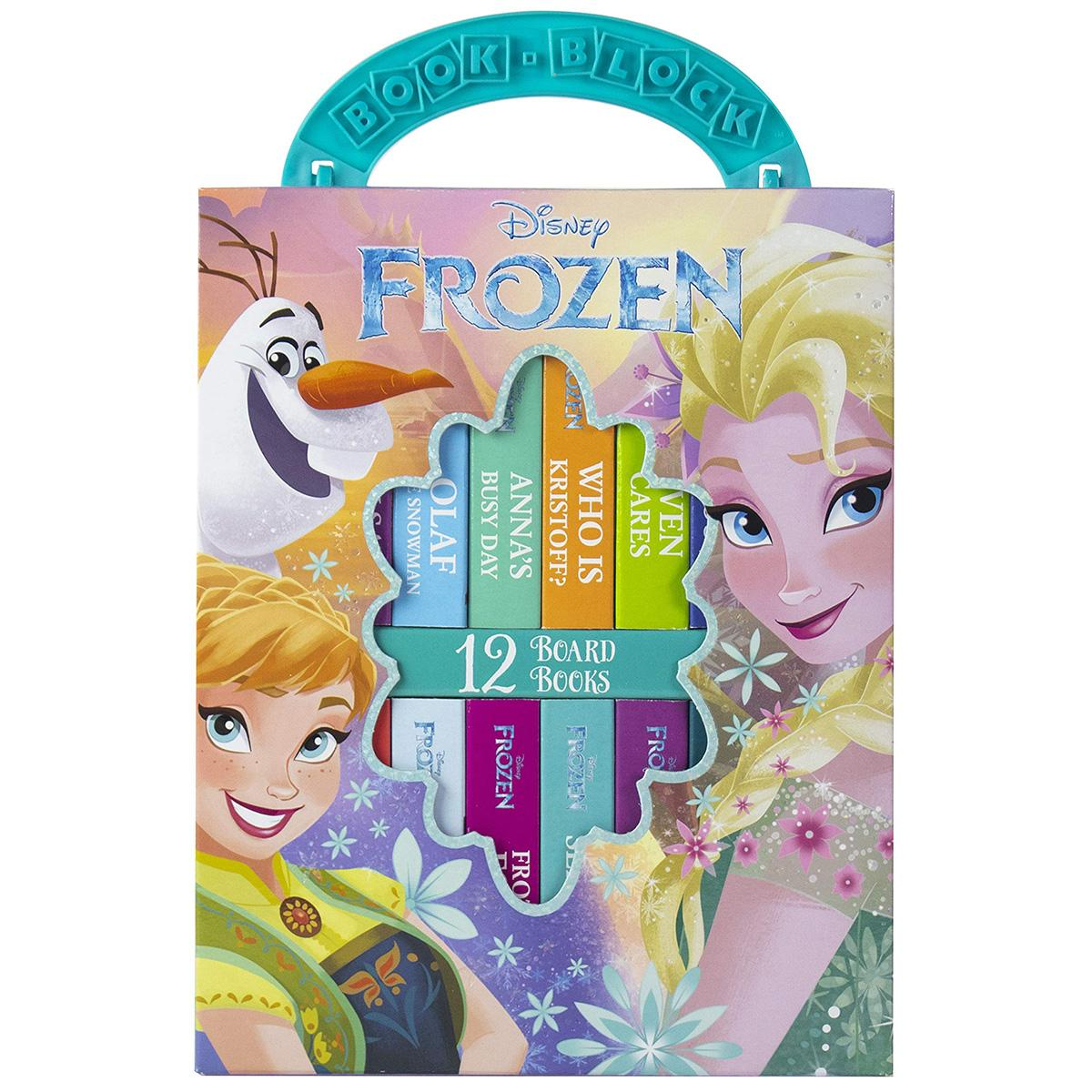 12-Book Set Disney Frozen My First Library Board Book Set for $5