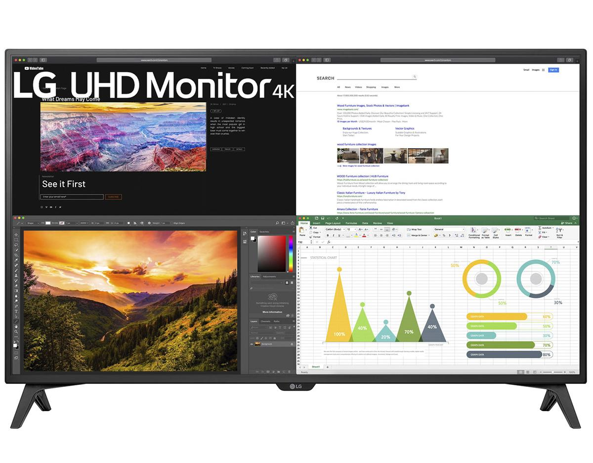 43 LG 43UN700T-B 4K UHD IPS Monitor for $499 Shipped