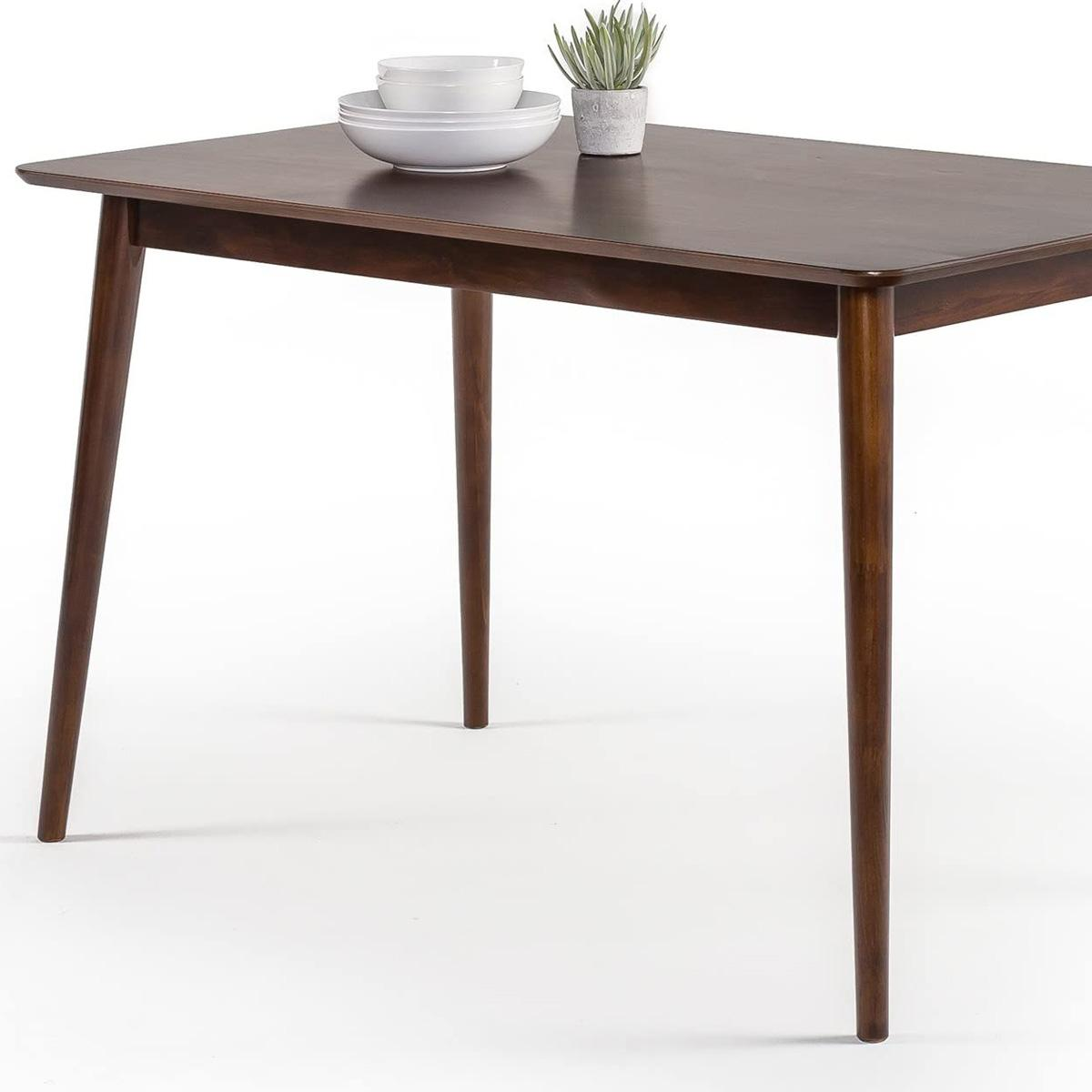 Zinus 47in Jen Solid Wood Dining Table for $103.70 Shipped