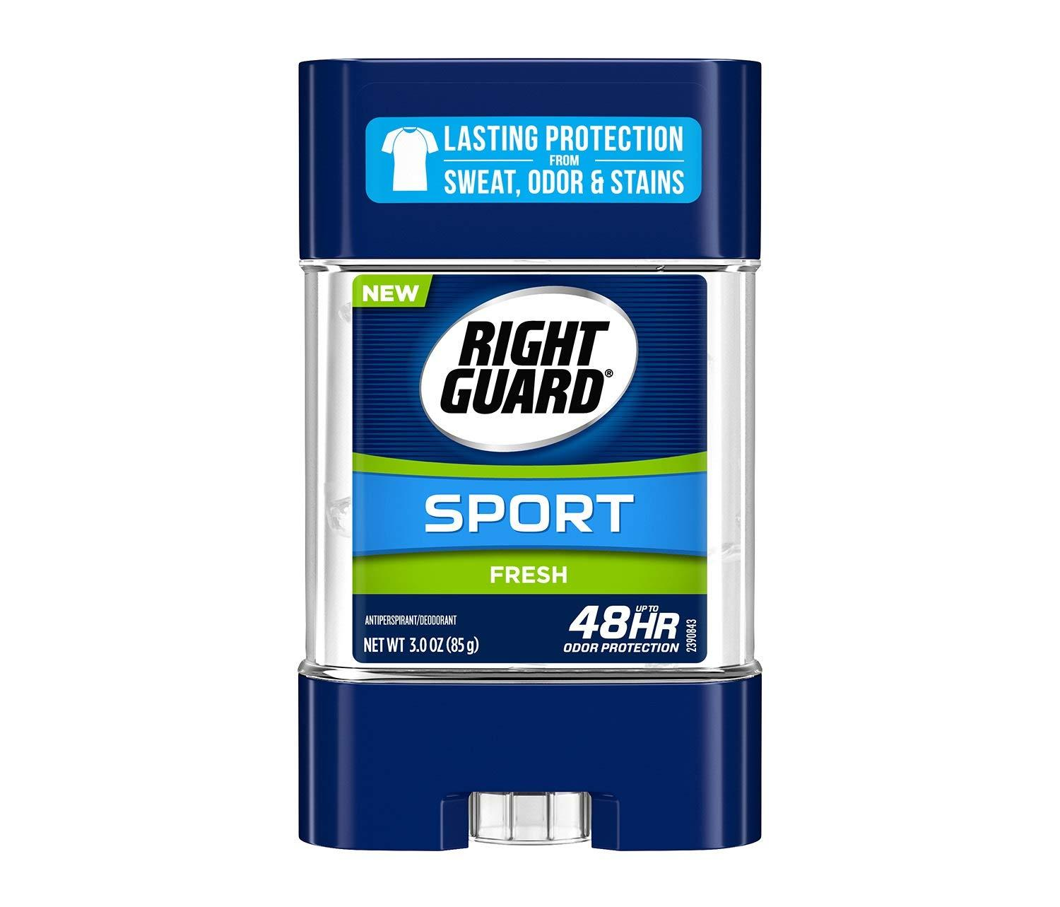 6 Right Guard Sport Antiperspirant Deodorant Gel for $8.55 Shipped