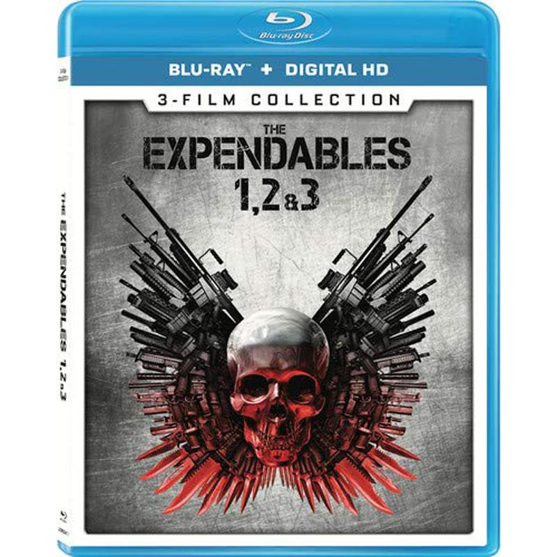 The Expendables 3-Film Collection Blu-ray Set for $5.99