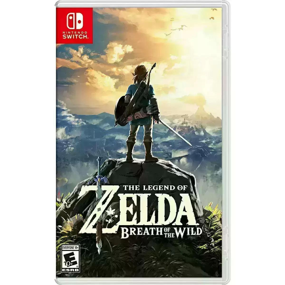 The Legend of Zelda Breath of the Wild Switch for $39.99 Shipped
