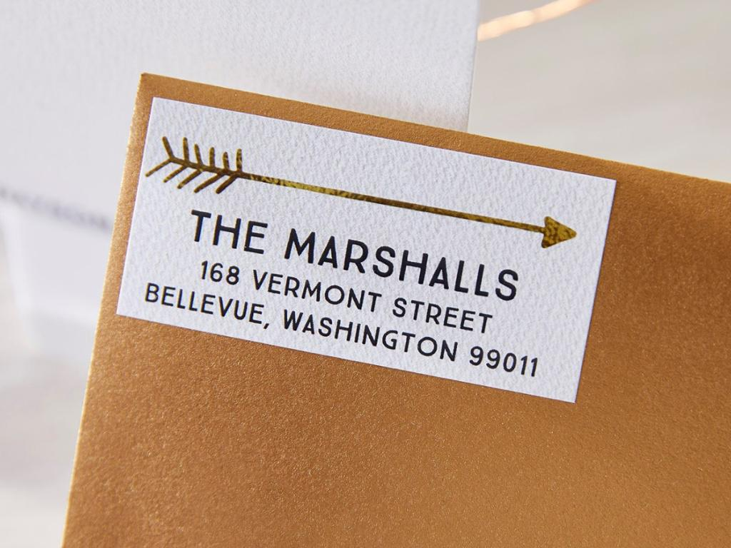 120 Personalized Address Labels for $1.99 Shipped