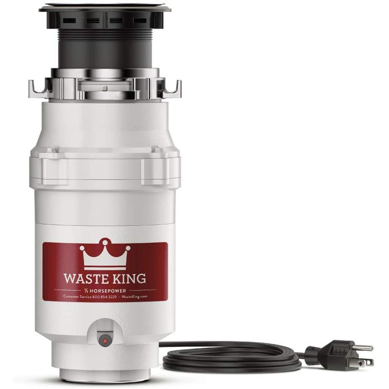 Waste King L-1001 Garbage Disposal with Power Cord for $34.52 Shipped