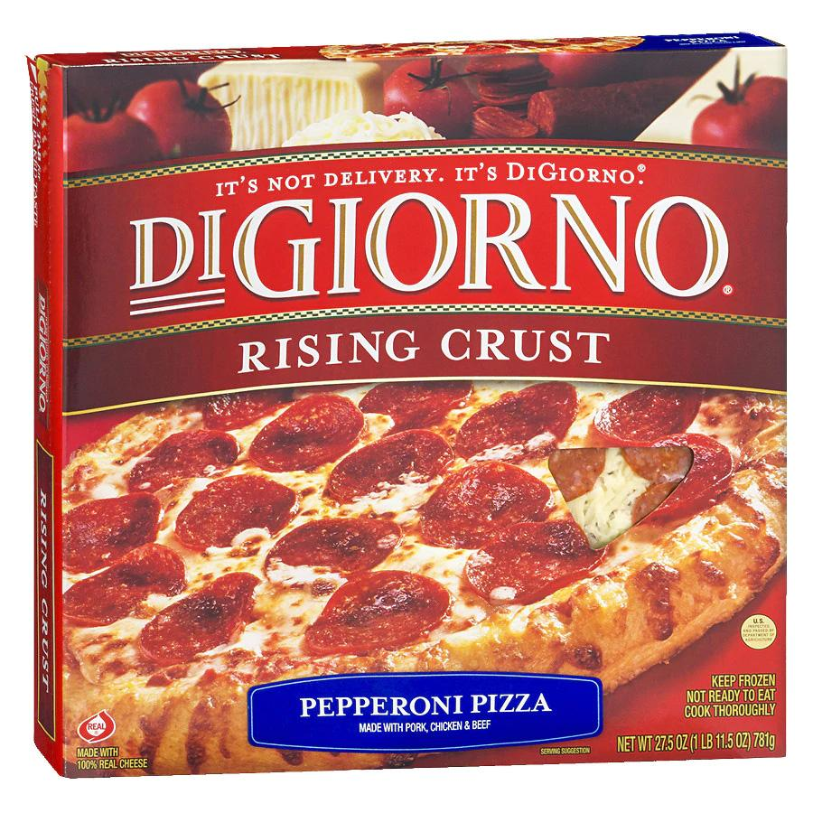 8 DiGiorno Rising Crust Frozen Pizzas for $22.37