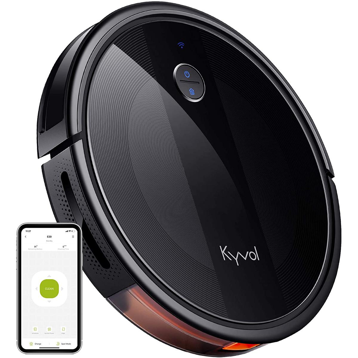 Kyvol Cybovac E20 Robot Vacuum Cleaner for $115 Shipped