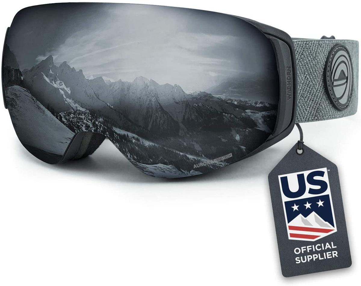 Wildhorn Roca Snowboard and Ski Goggles for $34.99 Shipped