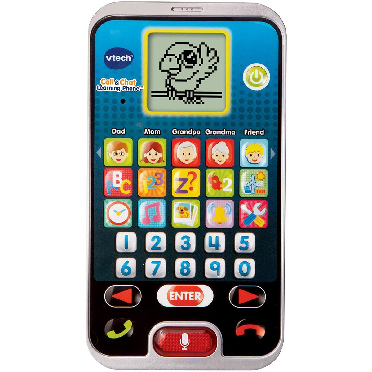 VTech Call and Chat Pretend Play Toy Learning Phone for $5.50