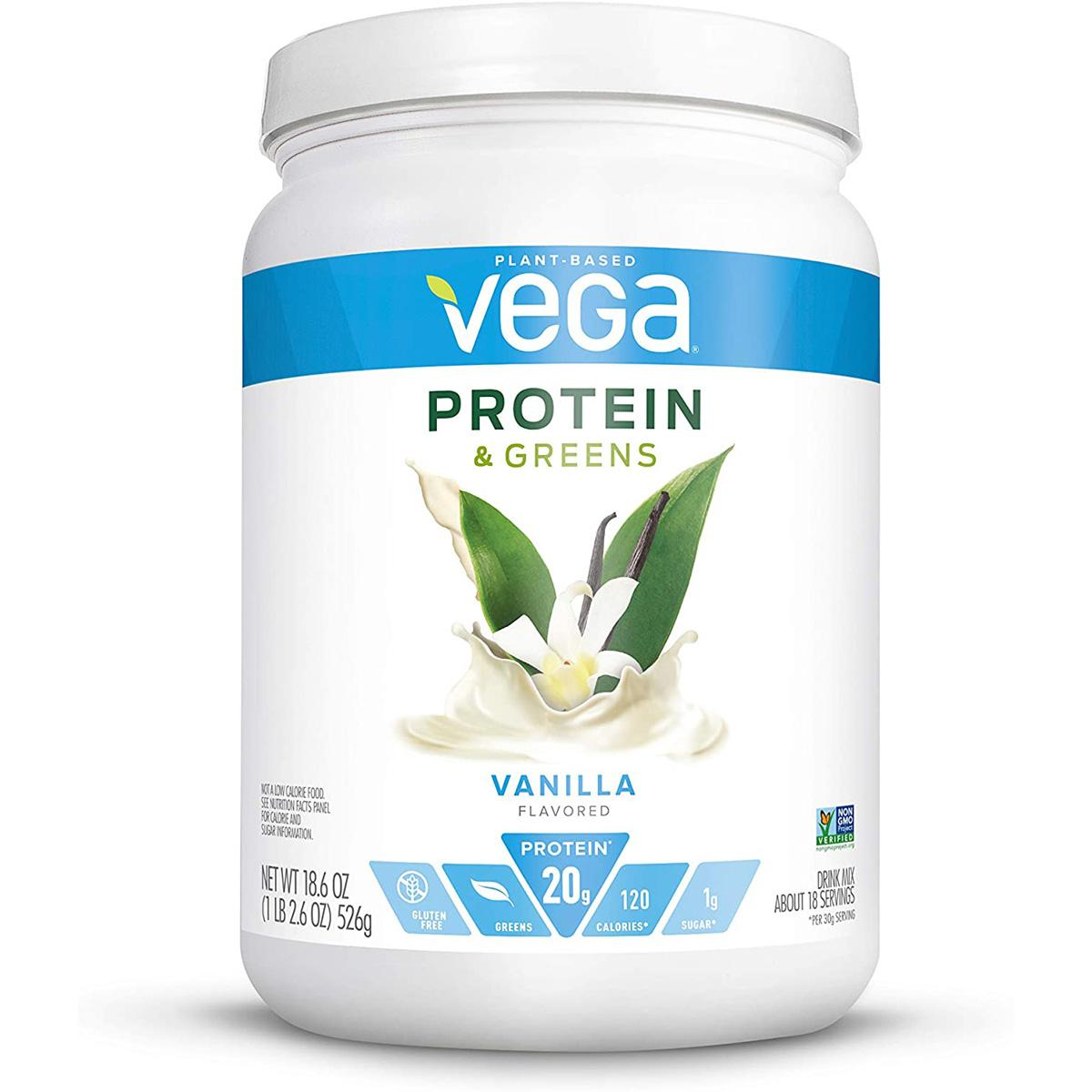 Vega Protein and Greens Plant Based Protein Powder for $12.99 Shipped